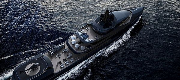 Экспедиционная суперяхта Oceanco Esquel
